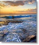 Burns Beach Wa Metal Print