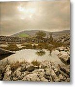 Burren Lake Metal Print