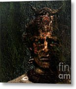 Bushman Metal Print by Jan Willem Van Swigchem