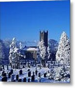 Bushmills Church, County Antrim Metal Print