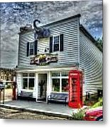 Business In Moundsville Wv Metal Print