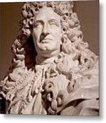 King Louis Needs A Haircut Metal Print