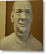 Bust Sculpture Metal Print by Terri  Meyer