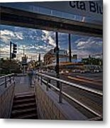 Busy Chicago View Metal Print