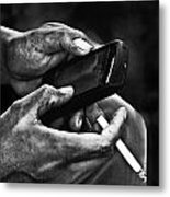 Busy Hands Metal Print