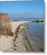 Butler Beach Metal Print