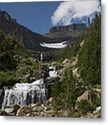 Butte At Lunch Creek  Metal Print