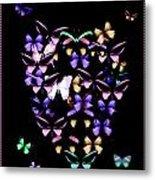 Butterfly Love Metal Print
