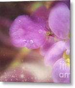 Butterfly Pea Wildflowers Metal Print