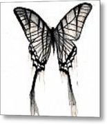 Butterfly Tears 2 Metal Print