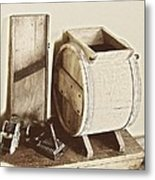 Buttermilk Churn 3540 Metal Print