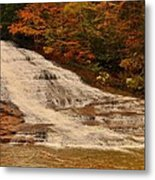 Buttermilk Falls Sate Park New York  Metal Print by Puzzles Shum