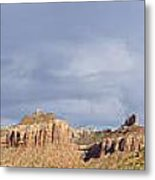 Buttes At Arches Park Metal Print