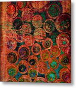 Buttons Metal Print by Ann Powell