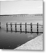 By The Harbor Metal Print
