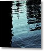 ..by The Lake.. Metal Print