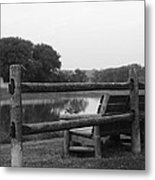 By The Mohawk Metal Print
