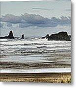 By The Sea - Seaside Oregon State  Metal Print