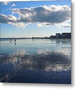 By The Sea In Maine Metal Print