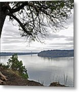 By The Still Waters Metal Print