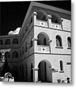 Byzantine Museum And Holy Bishopric Of Arsenoe In Peristerona Village Republic Of Cyprus Europe Metal Print by Joe Fox