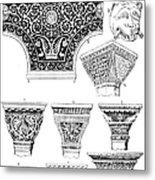 Byzantine Ornament Metal Print