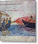 Byzantine Sailors  Metal Print