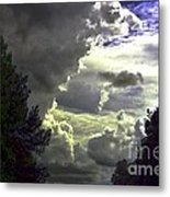 C Is For Clouds Metal Print