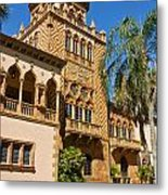 Ca D Zan  Winter Home Of John And Mable Ringling Metal Print