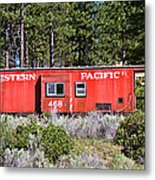 Cabin Car Metal Print