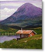 Cabin On Tangle Lake Metal Print