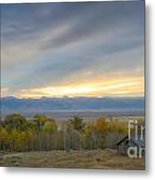 Cabin With A View Metal Print