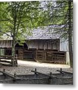 Cable Mill Barn Cades Cove Metal Print