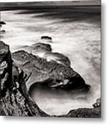 Cabrillo Tide Pool Metal Print