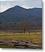 Cade's Cove - Smoky Mountain National Park Metal Print