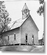 Cades Cove Methodist Church Metal Print