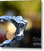 Cadillac Goddess Hood Ornament Metal Print