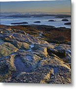 Cadillac Mountain And Frenchman's Bay Metal Print