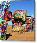 Cadillac Ranch 2  Metal Print
