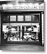 Cadillac Storefront, 1927 Metal Print