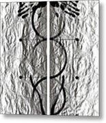 Caduceus Metal Print