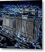 Caesars Palace Metal Print by Steven Richardson