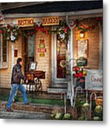 Cafe - Clinton Nj - Bistro Bakery  Metal Print