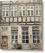 Cafe Brookkyn Metal Print