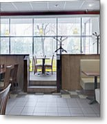 Cafe Dining Room Metal Print