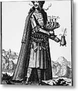 Cafe Owner, C1690 Metal Print