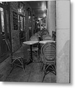 Cafe Rouge Metal Print by Anna Villarreal Garbis