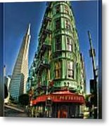 Cafe Zoetrope Metal Print