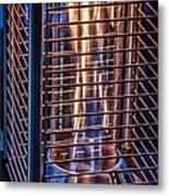 Caged Fire Metal Print