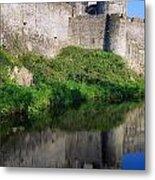 Cahir Castle, River Suir, County Metal Print